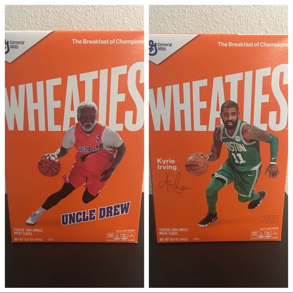 pretty nice 2ef79 aa8f5 NBA Kyrie Irving uncle Drew wheaties box NEW NWT